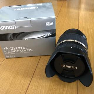 TAMRON - TAMRON SONY用レンズ  18-270mm