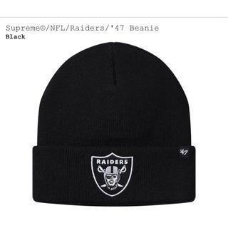 シュプリーム(Supreme)のSupreme NFL Raiders 47 Beanie  レイダース(ニット帽/ビーニー)