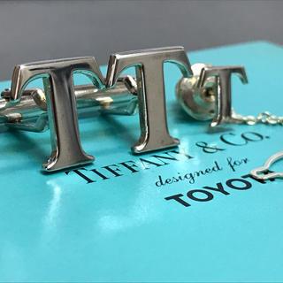 ティファニー(Tiffany & Co.)のティファニー 限定コラボ カフス カフリンクス 箱付き ネクタイピン タイピン(ネクタイピン)