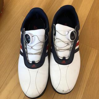 アディダス(adidas)のゴルフスパイク(シューズ)