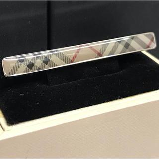 バーバリー(BURBERRY)の新品未使用 バーバリー ネクタイピン タイピン タイバー 箱付き(ネクタイピン)