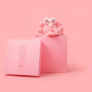 MEDICOM TOY - BFF Kaws Pink Plush