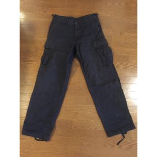 アルファインダストリーズ(ALPHA INDUSTRIES)のblack357type/ALPHA製military pants(ワークパンツ/カーゴパンツ)