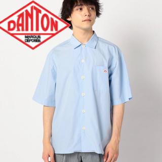 ダントン(DANTON)のDanton 半袖シャツ ブルー(シャツ)