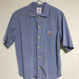 ダントン(DANTON)のDanton 半袖シャツ ブルー(シャツ/ブラウス(半袖/袖なし))