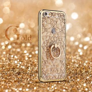 オトナ女子の選択☆彡リング付 iPhoneケース☆彡ゴールド(iPhoneケース)