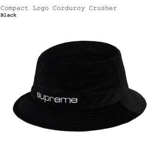シュプリーム(Supreme)のSupreme Compact Logo Corduroy Crusher(ハット)