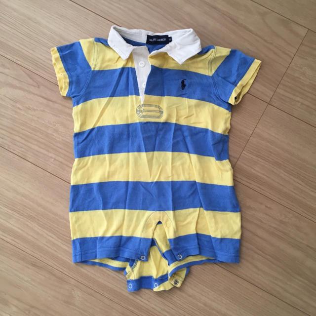 Ralph Lauren(ラルフローレン)のラルフローレン ロンパース 70 ポロシャツ RALPH LAUREN ベビー キッズ/ベビー/マタニティのベビー服(~85cm)(ロンパース)の商品写真