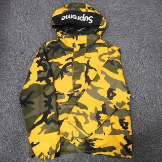 Supreme - supreme hooded logo half zip pullover