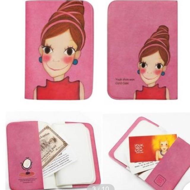 ユクシムウォン カードケース #ピア レディースのファッション小物(名刺入れ/定期入れ)の商品写真