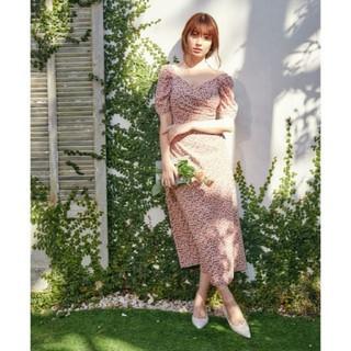 エーケービーフォーティーエイト(AKB48)のher lip to チェリーワンピース テラコッタ M(ロングワンピース/マキシワンピース)