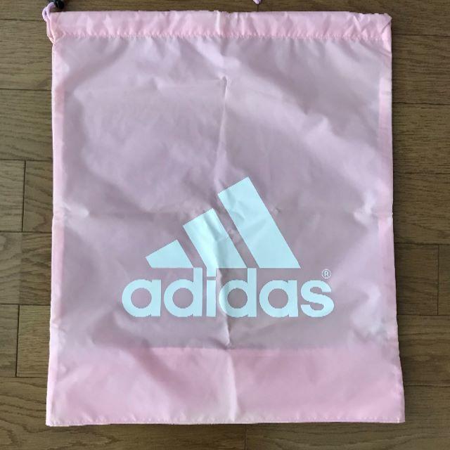 adidas(アディダス)のアディダス袋 インテリア/住まい/日用品の日用品/生活雑貨/旅行(その他)の商品写真