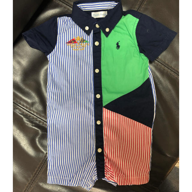 Ralph Lauren(ラルフローレン)のラルフローレン  ロンパース 美品 キッズ/ベビー/マタニティのベビー服(~85cm)(ロンパース)の商品写真