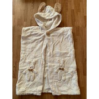 イマバリタオル(今治タオル)の天使の糸シリーズ♡オーガニックコットン100%バスポンチョ(バスローブ)