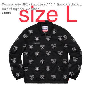シュプリーム(Supreme)のsupreme Raiders Jacket Lサイズ 19ss(ブルゾン)