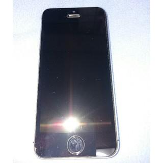 エヌティティドコモ(NTTdocomo)のiPhone5s 32GB docomo ジャンク(スマートフォン本体)