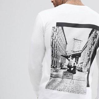 エイソス(asos)のBlooklyn supplyロンT(Tシャツ/カットソー(七分/長袖))