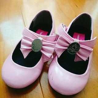 ディズニー(Disney)のビビディバビディブティック 靴ピンク 16cm(フォーマルシューズ)