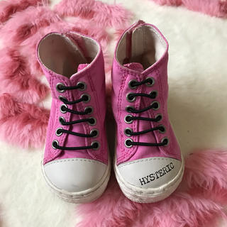 ヒステリックミニ(HYSTERIC MINI)の13cm靴(スニーカー)