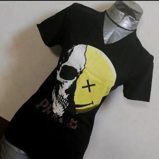 ディアブロ(Diavlo)のDiavlo スカル×ニコ デザインTee(Tシャツ/カットソー(半袖/袖なし))