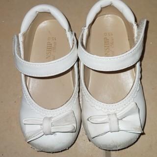 【再値下げ】15センチフォーマルシューズ 白靴(フォーマルシューズ)