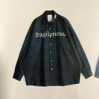 """シャリーフ(SHAREEF)のshareef """"fragileness"""" BIG SHIRTS(シャツ)"""