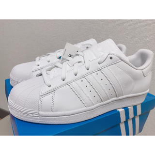 adidas - ★大人気★新品★アディダス★スーパースター★スニーカー★24センチ★ホワイト★