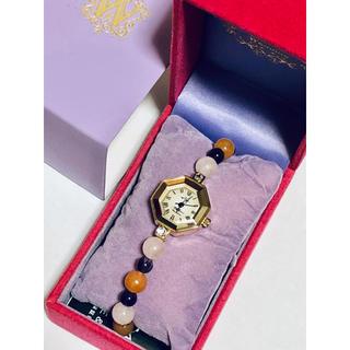 アイズビット(ISBIT)のISBIT Wendine☆パールブレスウォッチ*新品未使用箱付き(腕時計)