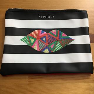 セフォラ(Sephora)の♡新品未使用♡SEPHORA♡セフォラ ♡ノベルティポーチ メイクポーチ(ポーチ)