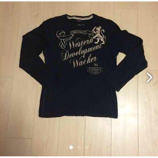 黒長袖Tシャツ(Tシャツ/カットソー(七分/長袖))