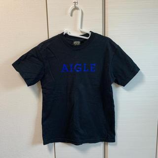 エーグル(AIGLE)のAIGLE Tシャツ ユニセックスXS 黒(Tシャツ(半袖/袖なし))