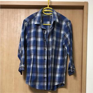 ジーユー(GU)の七分袖シャツ 値下げ(シャツ)