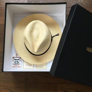 キャリー(CALEE)の定価15120円!完売Calee キャリー パナマハット 帽子 CAP キャップ(ハット)