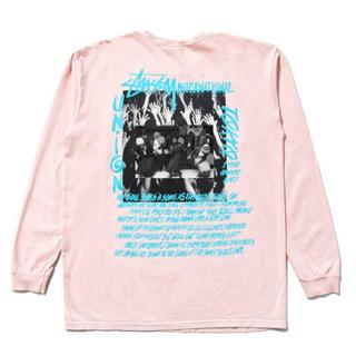 ステューシー(STUSSY)の新品 union stussy 1周年記念ロンT Mサイズ(Tシャツ/カットソー(七分/長袖))