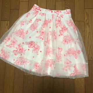 ジュジュエッタ(JugeETTA)の新品ジュジュエッタのチュールスカート(ひざ丈スカート)