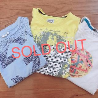アルマーニ ジュニア(ARMANI JUNIOR)の♡ブランド Tシャツ 8A♡3枚セット(Tシャツ/カットソー)
