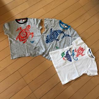 アルマーニ ジュニア(ARMANI JUNIOR)のアルマーニ半袖  3枚セット(Tシャツ/カットソー)