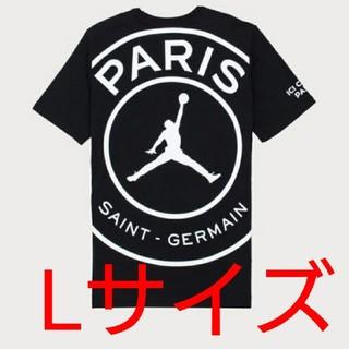 ナイキ(NIKE)の【Lサイズ】PSG JORDAN LOGO TEE パリサンジェルマン Tシャツ(Tシャツ/カットソー(半袖/袖なし))