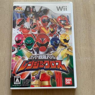 Wii - スーパー戦隊バトル  レンジャークロス