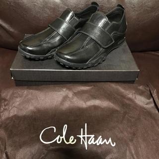 コールハーン(Cole Haan)の【着用少】コールハーン AIR GRIFFEN STRAP 6.5 24.5 黒(ドレス/ビジネス)