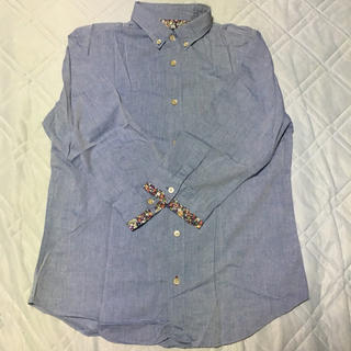 シップスジェットブルー(SHIPS JET BLUE)のSHIPS JET BLUE 七分袖シャツ Blue M(シャツ)