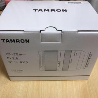 タムロン(TAMRON)のTAMRON 28-75mm F2.8 Di III RXD(レンズ(ズーム))