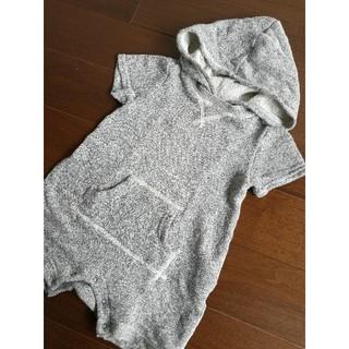 ベビーギャップ(babyGAP)のGap baby スウェット ロンパース 6~12m(ロンパース)