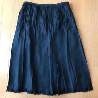 ハナエモリ(HANAE MORI)のHANAE MORI  黒スカート  値下げしました(ひざ丈スカート)