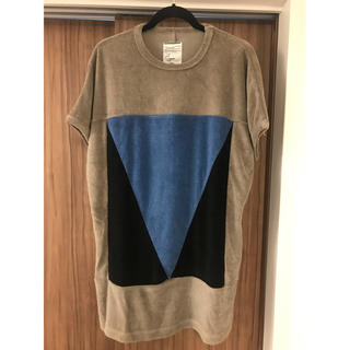 シャリーフ(SHAREEF)の[SHAREEF]LINEN PILE DOLMAN S/S BIG-T(Tシャツ/カットソー(半袖/袖なし))