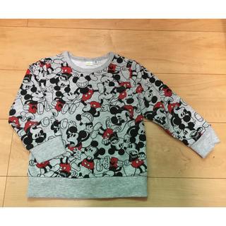 ディズニー(Disney)の《美品》Disney ディズニー  総柄トレーナー(Tシャツ/カットソー)