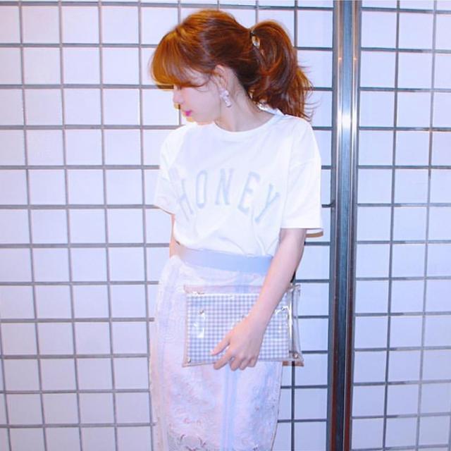 Honey mi Honey(ハニーミーハニー)のハニーミーハニー  Tシャツ レディースのトップス(Tシャツ(半袖/袖なし))の商品写真