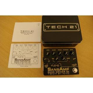 TECH21 Sansamp Bass Driver DI V2 サンズアンプ(ベースエフェクター)