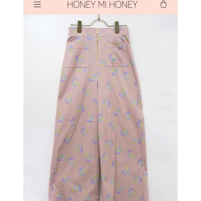 Honey mi Honey(ハニーミーハニー)のワイドパンツ レディースのパンツ(カジュアルパンツ)の商品写真