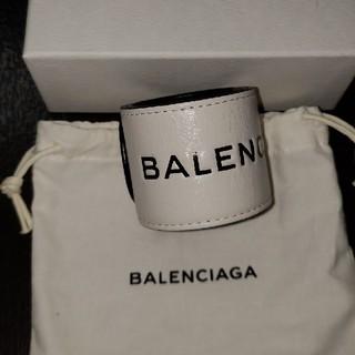 バレンシアガ(Balenciaga)のバレンシアガ レザーバングル(バングル/リストバンド)